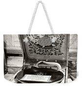 Antique Decca Gramophone By Kaye Menner Weekender Tote Bag
