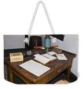 Antique Desk Weekender Tote Bag