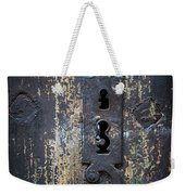 Antique Door Lock Detail Weekender Tote Bag