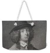Antique Engraving Of An Elegant Gentleman Weekender Tote Bag
