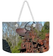 Antique Farmall Tractor 4a Weekender Tote Bag