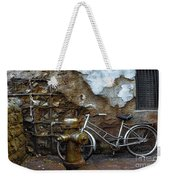 Antique Fire Hydrant 2 Weekender Tote Bag