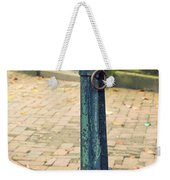 Antique Hitching Post Weekender Tote Bag