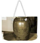 Antique Laundry And Clothes Pins In Sepia Photograph Weekender Tote Bag