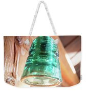 Antique Light Fixture 2 Weekender Tote Bag