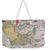 Antique Map Of Ireland Weekender Tote Bag