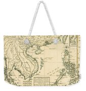 Antique Map Of South East Asia Weekender Tote Bag