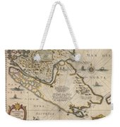 Antique Maps - Old Cartographic Maps - Antique Map Of The Strait Of Magellan, South America, 1635 Weekender Tote Bag