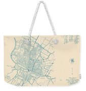 Antique Maps - Old Cartographic Maps - Antique Map Of Travis County, Texas, 1936 Weekender Tote Bag