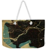 Antique Maps - Old Cartographic Maps - Antique Map Of Vancouver, New Westminster, Steveston Weekender Tote Bag
