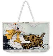 Antique Map Of The United States Of America - The Spirit Of Liberty - The Awakening, 1915 Weekender Tote Bag