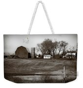 Antique Michigan Farm Weekender Tote Bag