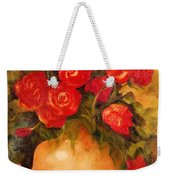 Antique Roses Weekender Tote Bag
