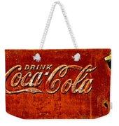 Antique Soda Cooler 3 Weekender Tote Bag