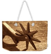 Antique Star Spur Weekender Tote Bag