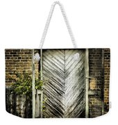 Antique Store Door Weekender Tote Bag