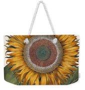Antique Sunflower Print Weekender Tote Bag