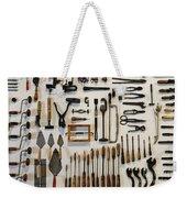 Antique Tools Weekender Tote Bag