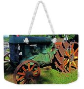Antique Tractor 3 Weekender Tote Bag