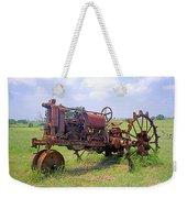 Antique Tractor  Weekender Tote Bag