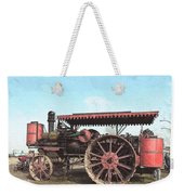 Antique Tractor - Rollag, Minnesota Weekender Tote Bag