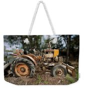 Antique Tractor Weekender Tote Bag