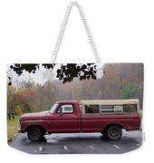 Antique Truck Weekender Tote Bag