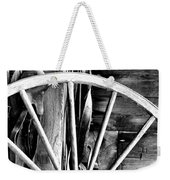 Antique Wagon Wheel Weekender Tote Bag