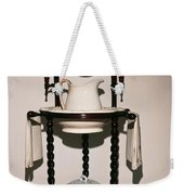 Antique Wash Stand Weekender Tote Bag