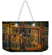 Antique Windows Weekender Tote Bag