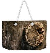 Antique Wine Barrel Cork Weekender Tote Bag