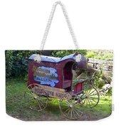 Antique Wine Wagon Weekender Tote Bag