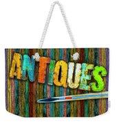 Antiques Weekender Tote Bag