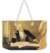 Antoine-laurent Lavoisier Weekender Tote Bag