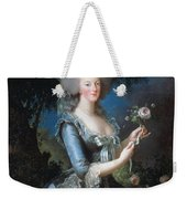 Antoinette With The Rose Marie Weekender Tote Bag