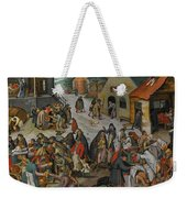 Antwerp The Seven Acts Of Mercy Weekender Tote Bag