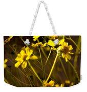 Anza Borrego Desert Sunflower 4 Weekender Tote Bag