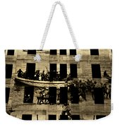 Anzac Pictures Projected In Martin Place 20 Weekender Tote Bag