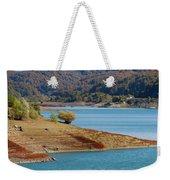 Aoos Lake Shore In Epirus, Greece Weekender Tote Bag