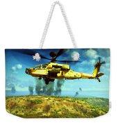 Apache Ai Assault - Operation Desert Wolves Weekender Tote Bag