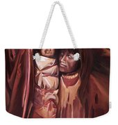 Apache Girl And Papoose Weekender Tote Bag
