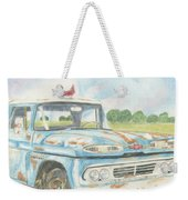 Apache Out To Pasture Weekender Tote Bag
