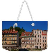 Apartments By The Ljubljanica River In Ljubljana Weekender Tote Bag