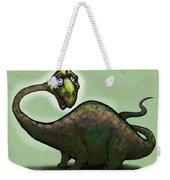 Apatosaurus Brontosaurus Weekender Tote Bag