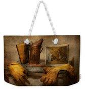 Apiary - The Beekeeper  Weekender Tote Bag by Mike Savad