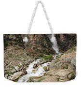 Apikuni Falls Weekender Tote Bag by Margaret Pitcher