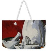 Apilco No. 4 Weekender Tote Bag by Erin Fickert-Rowland