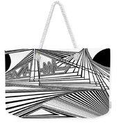 Apocalyptic Ringside View Weekender Tote Bag