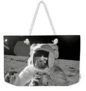 Apollo 12 Moonwalk Weekender Tote Bag