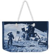 Apollo 15 Mission To The Moon - Nasa Weekender Tote Bag